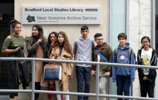 Visit to Bradford Archives Local Study Library