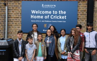 Visit to Lords Museum Cricket Ground