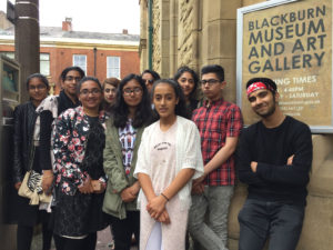 Visit to Blackburn Museum Art Gallery