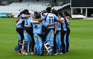 Exhibition at Headingley Asian Womens Cricket
