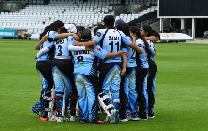 Exhibition at Headingley Asian Womens Cricket
