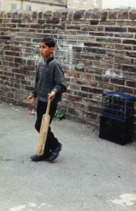 From Parks to Pavilions Mohanlal Mistry Asian Backstreet Alleyway Cricket Bradford 4