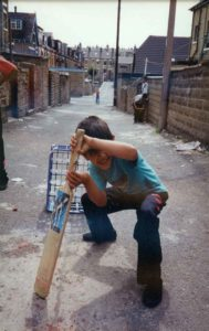 From Parks to Pavilions Mohanlal Mistry Asian Backstreet Alleyway Cricket Bradford 8