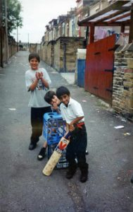 From Parks to Pavilions Mohanlal Mistry Asian Backstreet Alleyway Cricket Bradford 9
