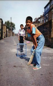 From Parks to Pavilions Mohanlal Mistry Asian Backstreet Alleyway Cricket Bradford e