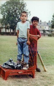 From Parks to Pavilions Mohanlal Mistry Asian Backstreet Alleyway Cricket Bradford y