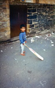 From Parks to Pavilions Mohanlal Mistry Asian Backstreet Alleyway Cricket Bradford a