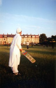 From Parks to Pavilions Mohanlal Mistry Asian Backstreet Alleyway Cricket Bradford f