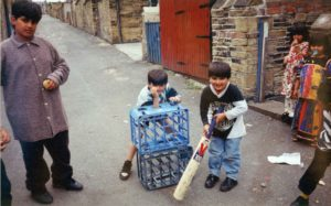 From Parks to Pavilions Mohanlal Mistry Asian Backstreet Alleyway Cricket Bradford k