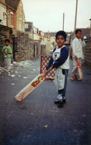 From Parks to Pavilions Mohanlal Mistry Asian Backstreet Alleyway Cricket Bradford c