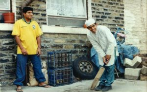 From Parks to Pavilions Mohanlal Mistry Asian Backstreet Alleyway Cricket Bradford 3